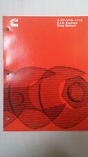 Cummins V/VT/VTA-1710 C.I.D. Engines Shop Manual Bulletin 3379120-00 Print 5-79