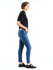 Levis Womens 311 0074 Ankle Shaping Skinny Denim Jeans Size 10 Long / 30 x 34