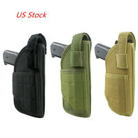 Tactical Molle Waist Pistol Holster Adjustable Right hand Gun Holster Pouch US