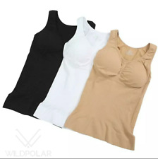 Womens Shapewear Tank Top Seamless Slimming Tummy Control Shaper Vest