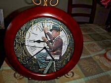 NORMAN ROCKWELL CLOCK FROM THE SAT EVENING POST COVER NOV. 3, 1945 FREE SHIPPING
