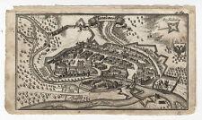 Danube wörth: thonauwerth. - cuivre clés de A. w. ERTL, 1687-1690