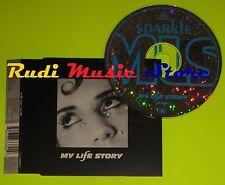 CD Singolo MY LIFE STORY Sparkle CD1  Uk 1996 BIG LIFE MUSIC   mc dvd (S7)