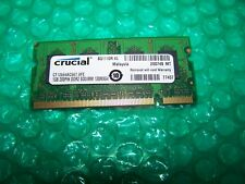 1GB Crucial PC2-5300 667MHz DDR2 SODIMM Laptop Memory