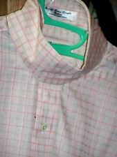 Esses Signature Collection Riding Shirt Pink/Tan Sz 36