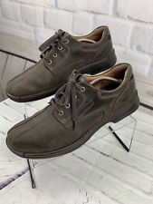 ECCO Men's Brown Leather Shock Point Shoes US Size 13 - 13.5 EUR Size 47