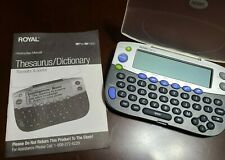 Royal RP Pro Electronic Thesaurus and Dictionary
