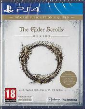 Playstation 4 The Elder Scrolls Online: Tamriel Unlimited BRAND NEW (PS4)