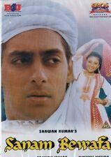 SANAM BEWAFA - RARE EROS & B4U BOLLYWOOD DVD -  Salman Khan, Chandni, Kanchan.