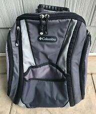 Columbia Diaper Bag Backpack Gray Hiking With Insulated Side Pocket