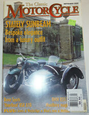 MotorCycle Magazine Stately Sunbeam & BSA A10 September 2000 012215R