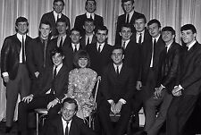 """Cilla Black and the Mersey Sound Bands 10"""" x 8"""" Photograph no 28"""