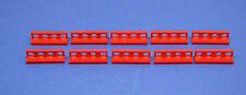 LEGO 10 x System Zaun rot Gatter Zäune   red fence 3633 4187280
