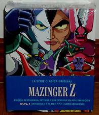 MAZINGER Z LA SERIE CLASICA ORIGINAL BOX.1 NUEVO 8 BLU-RAY+LIBRO (SIN ABRIR) R2