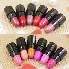 12x Lot Colors Long Lasting Mini Lipstick Glossy Waterproof Rouge Lip Gloss 2016