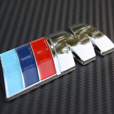 BMW 3D Badge M Power Logo Car Emblem Decal Tail Trunk Fender Self Adhesive Metal
