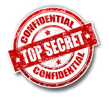 Top Secret Confidential Sticker for Car Truck Laptop any smooth surface …