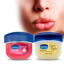 Vaseline Lip Makeup Care Lip Therapy Petroleum Jelly Lip Balm Original Cocoa