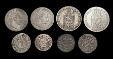 AUSTRIA-HUNGARY, Lot of 8 silver coins including Medieval