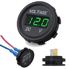 Digital LED Panel DC Voltmeter Voltage Meter Display For Car Motorcycle Boat 12V