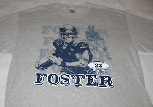 Vintage! ARIAN FOSTER #23  T - Shirt Adult Large Heather Gray - never worn