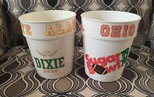 2 VTG SUGAR BOWL DIXIE BEER NEW ORLEANS 1978 OHIO STATE ALABAMA CUPS BEAR HAYES