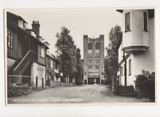 West Gate & Water Tower Thorpeness Vintage RP Postcard 727a