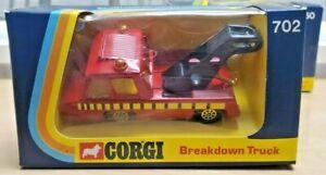 702 Corgi METTOY Hi-Speed Breakdown Truck NIB