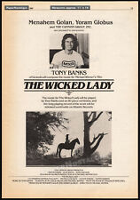 TONY BANKS_/_The Wicked Lady__Original 1982 Trade AD promo / poster__Genesis