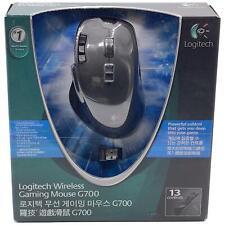 Logitech G700 Black 13 Buttons Tilt Wheel USB RF Wireless Laser Gaming Mouse