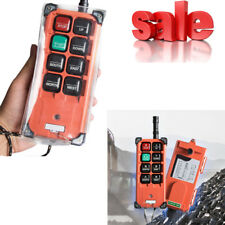 Transmitter&Receiver Hoist Crane Radio Industrial Wireless Remote Control DC 12V