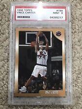 1998 Topps Vince Carter #199 Basketball Card PSA 9