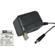 12VAC 500mA AC-to-AC Wall Adapter Power Supply