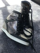 Ladies JIMMY CHOO Wedge Style Trainers - Size 39 Approx UK 6