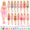 Barwa Barbie 10 Random Skirt + 10 Random Shoes + 6 Random Crown + 6 Necklace