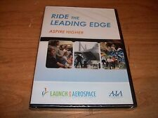 AIA Ride The Leading Edge Aspire Higher Launch Into Aerospace Career DVD NEW