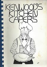 BALTIMORE MD 1988 KENWOOD HIGH SCHOOL KITCHEN CAPERS COOK BOOK MARYLAND RECIPES