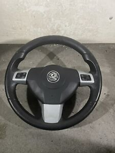 VAUXHALL ASTRA H 2008 SRI SILVER  LEATHER STYLE  STEERING WHEEL