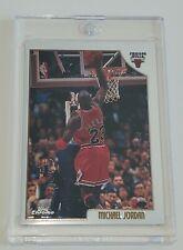 1998-99 Topps Chrome Preview Michael Jordan #77 Chicago Bulls
