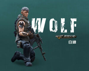 10.5cm JOYTOY 1/18 Scale CrossFire CF Wolf Male Action Figures Doll Toys
