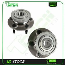 Pair 2 Rear Wheel Hub Bearings Assembly 5 Lugs For 1997-2003 Ford Windstar W/ABS