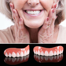 Pro Instant Cosmetic Teeth Fake Tooth Cover Dental False Natural Snap On Perfect