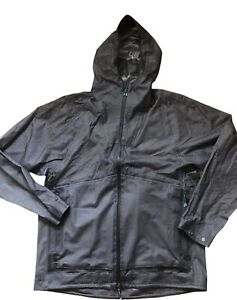 NEW LULULEMON LAB SAURA JACKET Mens size M Windbreaker Raincoat Packable Run