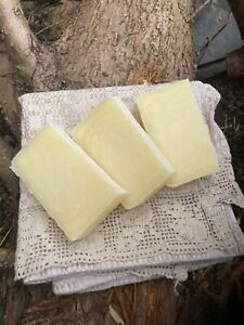 100%Beef Tallow Soap/Unscented/Pure/Old Fashioned/Handcrafted/Natural