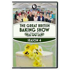 Great British Baking Show Season 4 DVD New DVD! Ships Fast!