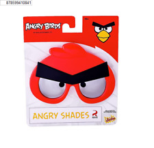Party Costumes - Sun-Staches - Angry Birds - Red New SG2480