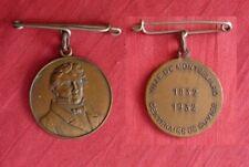 ville de Montbéliard centenaire de cuvier 1832 1932 médaille 27mm bronze