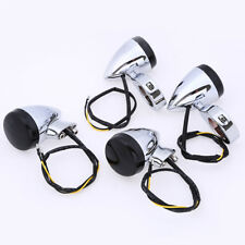 4x 41mm Fork Clamp Bracket Motorcycle Turn Signal Light for Harley Touring Glide