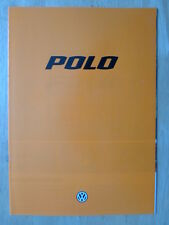 VOLKSWAGEN POLO 1978-79 German Mkt Sales Brochure Prospekt - VW