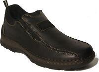 RIEKER Schuhe Halbschuhe Slipper schwarz echt Leder EXTRA WEIT NEU